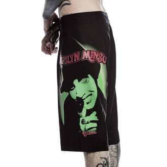 Shorts Men's (swimsuits) KILLSTAR - Marilyn Manson - Fiend - Black, KILLSTAR, Marilyn Manson