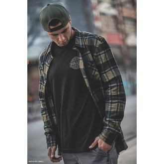 Shirt Men's SULLEN - BIRCHWOOD - BLACK / GREEN / GRAY, SULLEN