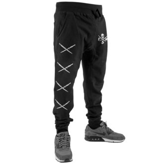 Sweatpants Men's FAMOUS STARS & STRAPS - STICK IT SWEAT - BLACK, FAMOUS STARS & STRAPS