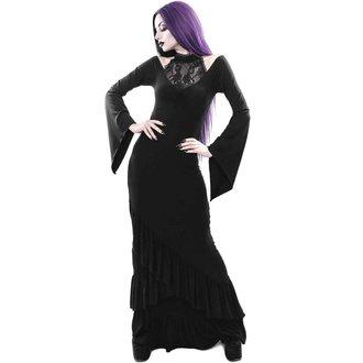 Women's Dress KILLSTAR - FOREVER FADES FISHTAIL - BLACK, KILLSTAR