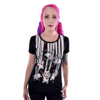t-shirt women's - FALLING BUNNIES - CUPCAKE CULT - POI783