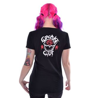 t-shirt women's - FALLING BUNNIES - CUPCAKE CULT, CUPCAKE CULT