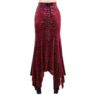 Women's skirt KILLSTAR - Genesis - WINE, KILLSTAR