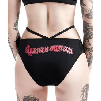 Panties Women's KILLSTAR - Marilyn Manson - Golden Ticket - Black, KILLSTAR, Marilyn Manson