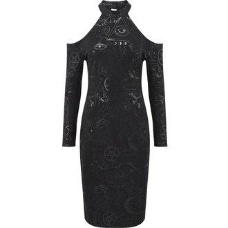 Dress Women's KILLSTAR - GRAVE GIRL HALTER - BLACK - K-DRS-F-2770