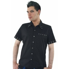 shirt men DEAD THREADS - Black - GS8981
