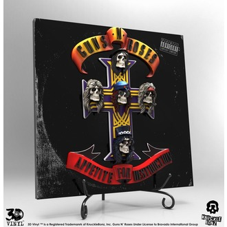 Decoration Guns N' Roses - Appetite for Destruction, KNUCKLEBONZ, Guns N' Roses