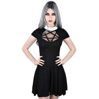 Women's dress KILLSTAR - HADES SKATER - BLACK, KILLSTAR