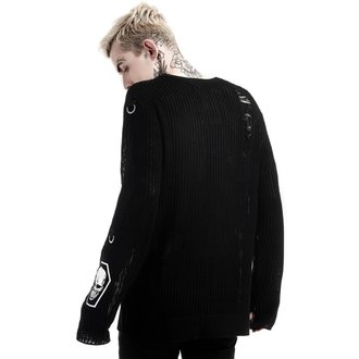 Sweater (unisex) KILLSTAR - Haight You Knit - Black, KILLSTAR