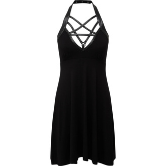 Women's dress KILLSTAR - Harness Ur Power Sun - BLACK - KSRA001685