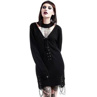 sweater women's KILLSTAR - Hell In Harlow Distress Knit - Black, KILLSTAR