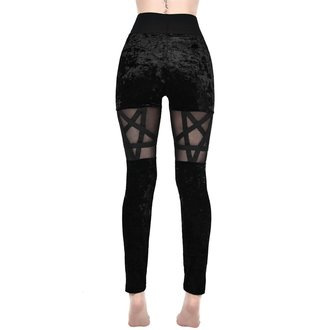 Women's Leggings KILLSTAR - HELLION - BLACK, KILLSTAR