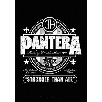 Flag Pantera - Beer Label, HEART ROCK, Pantera