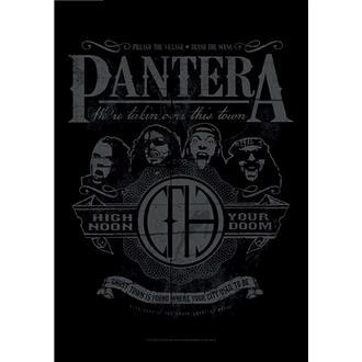 Flag Pantera - High Noon Your Doom, HEART ROCK, Pantera