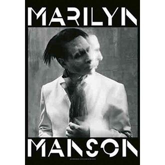 Flag Marilyn Manson - Seven Days Binge, HEART ROCK, Marilyn Manson