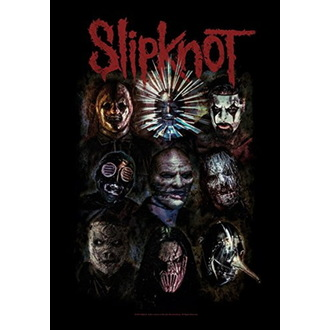 Flag Slipknot - Oxidized, HEART ROCK, Slipknot