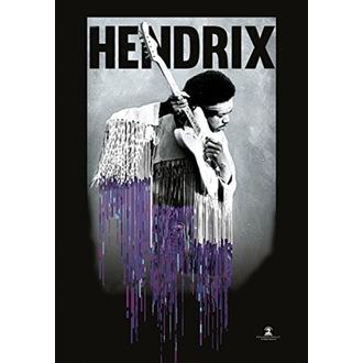 Flag Jimi Hendrix - Dripping, HEART ROCK, Jimi Hendrix