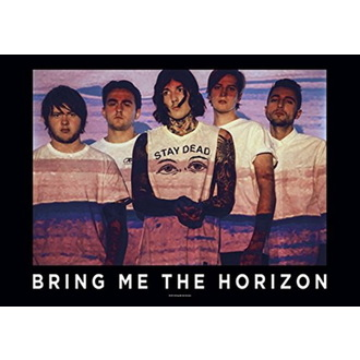 Flag Bring Me the Horizon - Press Shot, HEART ROCK, Bring Me The Horizon