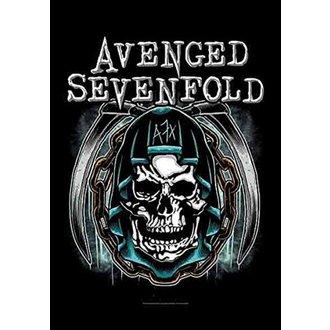 Flag Avenged Sevenfold - Holy Reaper, HEART ROCK, Avenged Sevenfold