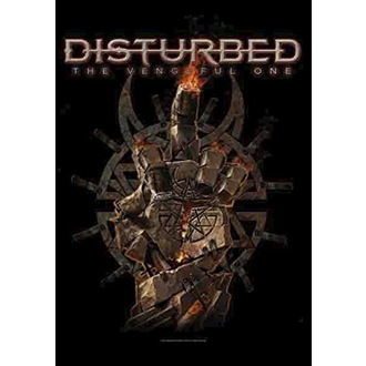 Flag Disturbed - The Vengeful One, HEART ROCK, Disturbed