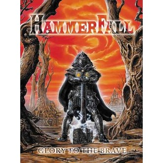 flag Hammerfall - Glory to The Brave - HFL250