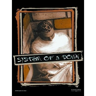 flag System Of A Down. HFL 581, HEART ROCK, System of a Down