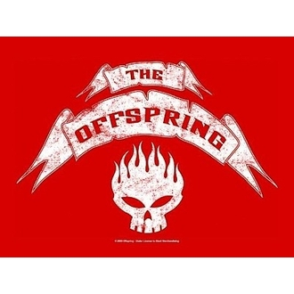 flag Offspring - Banner, HEART ROCK, Offspring
