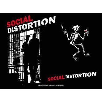 flag Social Distortion - Slammer, HEART ROCK, Social Distortion