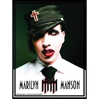 flag Marilyn Manson - Uniform, HEART ROCK, Marilyn Manson