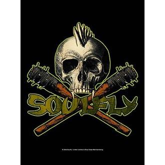 flag Soulfly - Skull