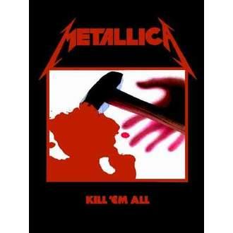 flag Metallica - Kill'Em All - HFL0190