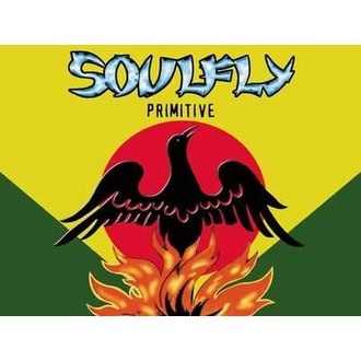 flag Soulfly - Primitive, HEART ROCK, Soulfly