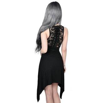 Dress Women KILLSTAR - ILLUSION LACED UP - BLACK, KILLSTAR