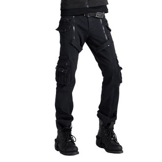 Pants Men's PUNK RAVE - Black, PUNK RAVE