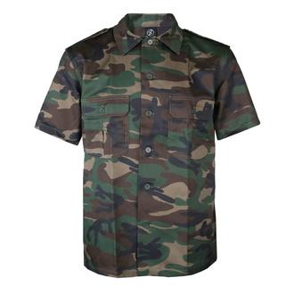 Men's shirt BRANDIT - US Hemd 1/2 - 4101-woodland