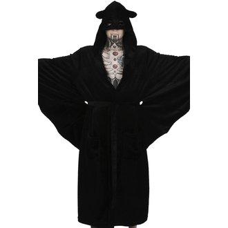 Bathrobe KILLSTAR - IN MOURNING - BLACK, KILLSTAR