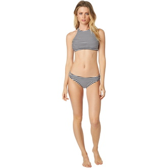 Bikini Women's FOX - Jail Break - Halter - Black / White, FOX
