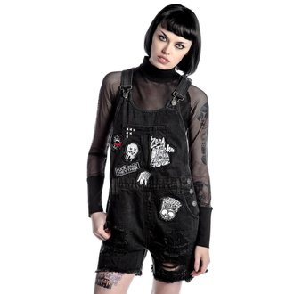 Shorts women's KILLSTAR - Jinx Cursed Cutie - Black, KILLSTAR