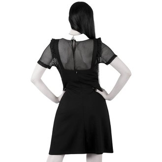 Women's dress (set) KILLSTAR - Juju Pinafore - Black, KILLSTAR