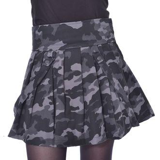 Women's skirt HEARTLESS - JANICE SKIRT - GREEN CAMO, HEARTLESS