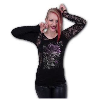 t-shirt women's - SKULL ROSE - SPIRAL, SPIRAL