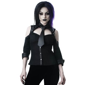 Women's shirt KILLSTAR - Kalista Teachers Pet - BLACK, KILLSTAR