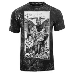 t-shirt hardcore men's - DEVIL - AMENOMEN - OMEN094KM ALLPRINT WHITE