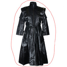 Men's coat (2nd grade) ZOELIBAT - Black, ZOELIBAT
