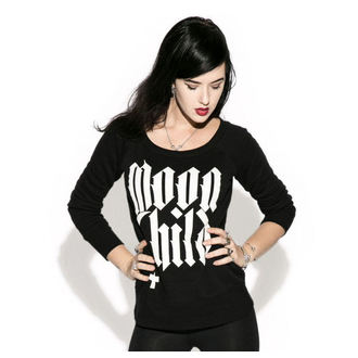 sweatshirt (no hood) women's - Moon Child - BLACK CRAFT, BLACK CRAFT