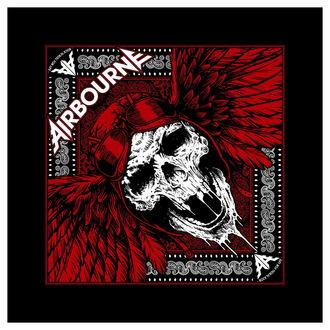 Scarf Airbourne - Red Skull - RAZAMATAZ - B072