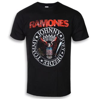 t-shirt metal men's Ramones - Eagle Seal - ROCK OFF, ROCK OFF, Ramones