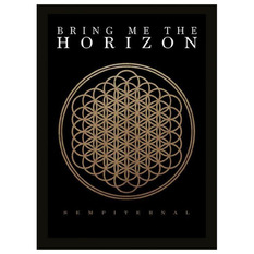 Framed poster Bring Me The Horizon - Sempiternal - PYRAMID POSTERS, PYRAMID POSTERS, Bring Me The Horizon