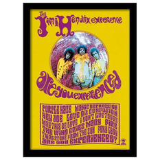 Framed poster Jimi Hendrix - Are You Experienced? - PYRAMID POSTERS, PYRAMID POSTERS, Jimi Hendrix
