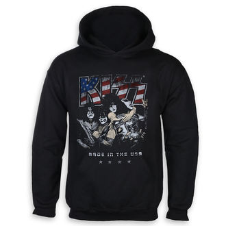 hoodie men's Kiss - Made in the USA - ROCK OFF, ROCK OFF, Kiss